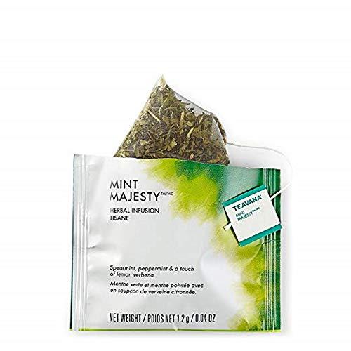 Starbucks Teavana Tea Sachets (Mint Majesty Herbal, Pack of 24 Sachets)