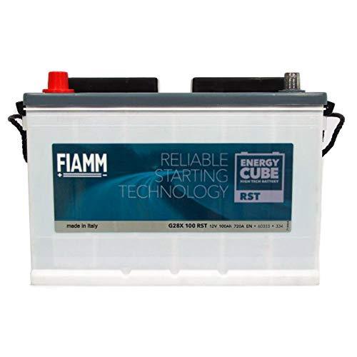 BATTERIA TRATTORE FIAMM G28X RST EnergyCube - 100Ah 720A 12V