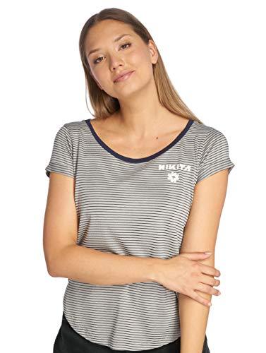 Nikita T-Shirt Femme rayé Bleu Blanc Taille S EU