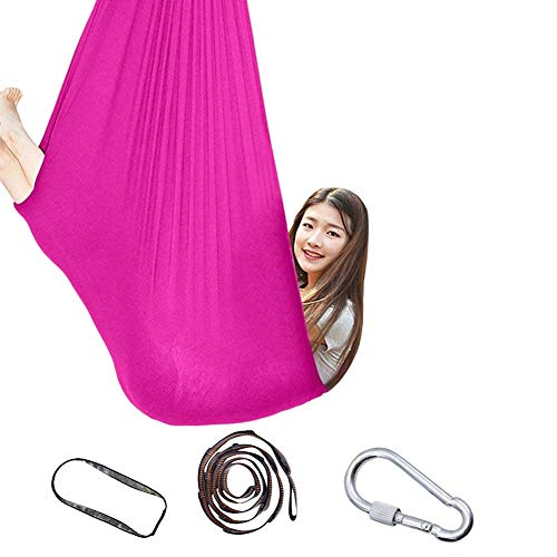 Buy Bargain Therapy Swing for Kids, with Special Needs, Breathable Cuddle Hammock, Indoor Physical f...