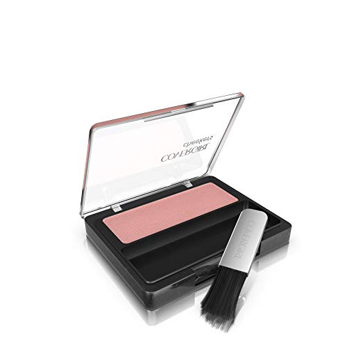 COVERGIRL Cheekers Blendable Powder Blush Pretty Peach, .12 oz (packaging may vary), 1 Count