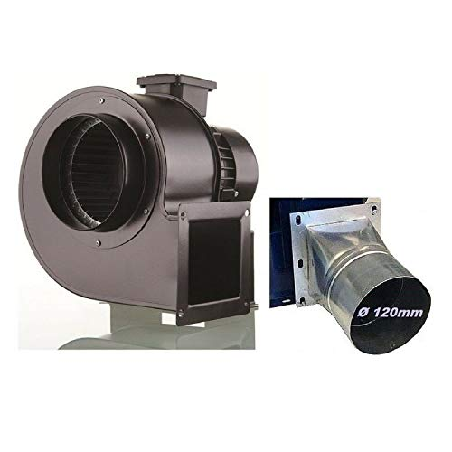 Uzman-Versand Radialgebläse 1800m3/h Radiallüfter mit 4 eck Flansch Radialventilator Radial Lüfter, Gebläse Zentrifugal Sauggebläse Saugventilator Ventilator