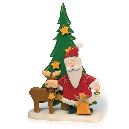Santa Clause et renne de décoration