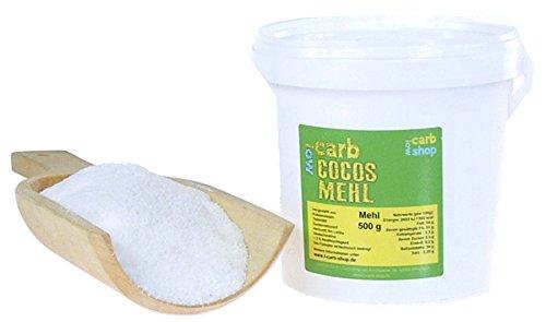 -Carb KOKOS Mehl (zuckerarm, teilentölt) 500 g