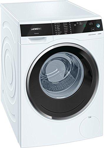 Siemens avantgarde iSensoric Premium-Waschmaschine / A+++  / 1400 UpM / 9kg / weiß / i-Dos / multiTouch LED