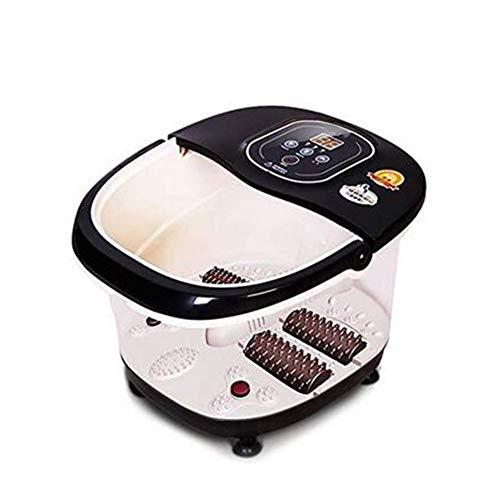 Preisvergleich Produktbild Fuß-Spa-Bad Motorisiertes Massagegerät mit Wärme-Infrarot-Vibrationsluftblase,  SPA-Bad-Massagegerät Fuß-Shiatsu für Fuß,  Fußgelenk,  Bein,  Wade usw.