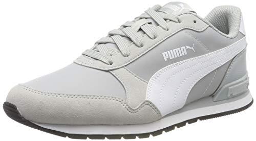 PUMA ST Runner v2 NL Zapatillas Unisex Adulto,Gris ( High Rise-Puma White-Puma Black ) , 43 EU