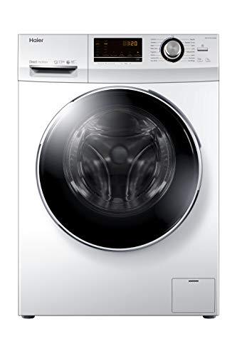 Haier HW70-B12636N Lavatrice Slim, 7 kg, 67 Decibel, Acciaio Inossidabile, Bianco