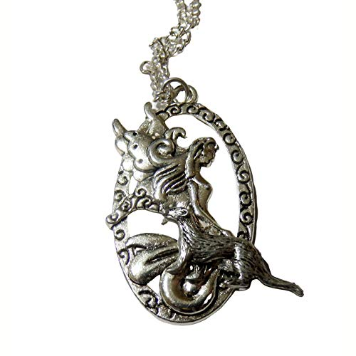 Fairy and Ferret Necklace 1608