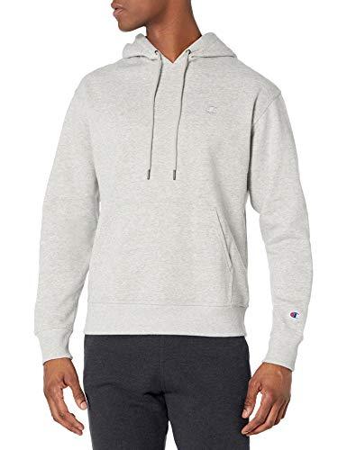 Champion Powerblend Pullover Hoodie Sweatshirt Capuche, Gris Oxford, M Homme