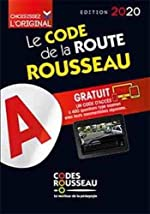 Code Rousseau de la route B 2020 de Codes Rousseau
