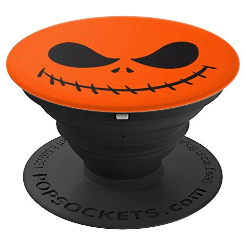 Halloween Horror Scary Skull Jack Pumpkin King PopSockets Grip and Stand for Phones and Tablets