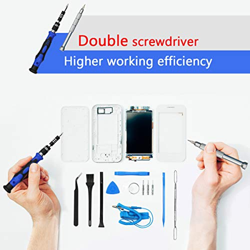 VMAN 150 in 1 Electronics Precision Screwdriver Set, Repair Tool Kits with Magnetic, Mini Screwdriver Set with Oxford bag, Repair for Cell Phone, iPhone, Watch, Tablet, xbox PS4, laptop