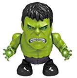 IndusBay Dancing Battery Operated Super Hero Robot Action Figure Musical Cool Light Sound and Dance Toy for Kids Toddlers