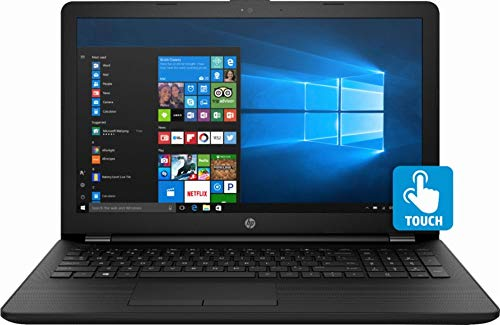HP Premium HD Touchscreen Laptop, Intel i3-8130u 2.2 Ghz Turbo up to 3.4 Ghz, 256GB SSD, 8GB DDR4, DVD Writer, WiFi, USB 3.0, HDMI, Bluetooth, Gigabit Ethernet, Intel UHD Graphics 620, Windows 10