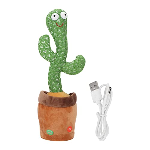 CUTULAMO Dancing Cactus, Cactus Toy Dance One Click Control Canta per Regali di Compleanno per...