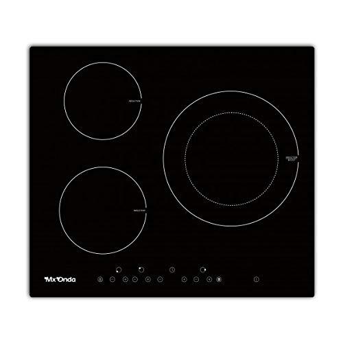 MX ONDA Placa de induccion 3 fuegos para encastrar PI2230 Placas de cocina electrica encimera