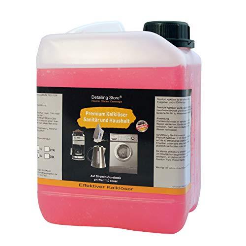 Universeller Premium Kalklöser Konzentrat - Entkalker für alle Kaffeemaschinen & Kaffeevollautomaten - Universal Kalklöser - Kalk-Reiniger (5 Liter)