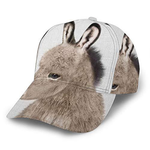 Donkey Baseballkappe, verstellbar, klassisch, sportlich, lässig, für Männer und Frauen