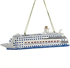 Kurt Adler Cruise Ship Christmas Ornament