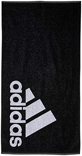Adidas Adidas Towel S Beach Towel, Unisex Adulto, Black/White, NS