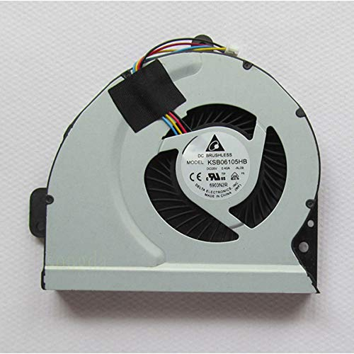 N / A Cooling Fan KSB06105HB,DC5V 0.40A CPU Cooler Fan for Laptop K53E K53S K53SC/K53SD/K53SJ/K53SK/K53SM/K53SV/K84/A43S K43