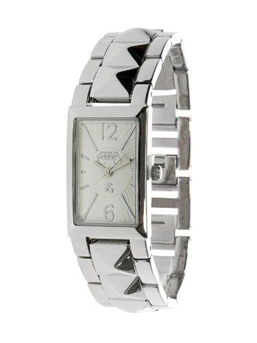 Le Temps des Cerises - TC30SRM - Montre Femme - Quartz Digital - Cadran Argent - Bracelet Métal Argent