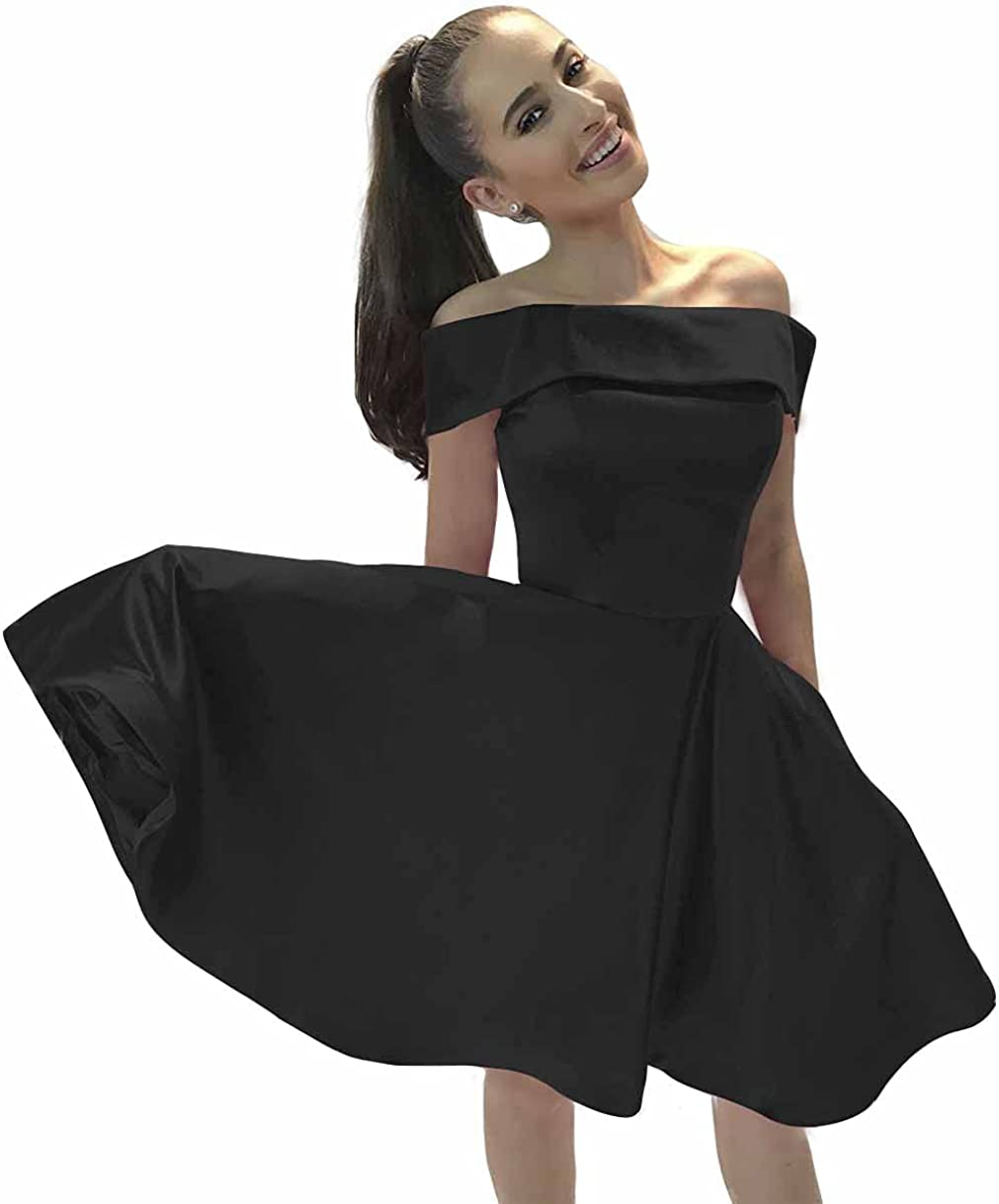 Lover Kiss Juniors Short Homecoming Dresses for Teens Satin Prom Evening Party Gowns