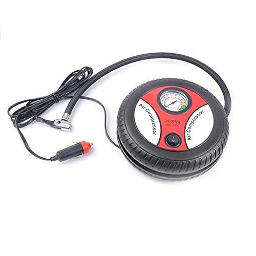 Inflador Ruedas Coche Neumático del coche de 12 voltios portátil coche compresor de aire de bicicletas bomba compresor de aire for el coche Motocicletas Compresor Aire Portatil (Color Name : 1)