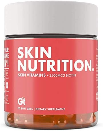Genesis Today Skin Nutrition Vitamin E Coconut Argan Oil Supplement Promotes Healthy Skin with product image