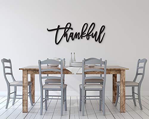 Ced454sy Thankful Schild Thankful Wood Sign Thankful Wall Decor Thanksgiving Decor Thankful Word Sign Wood Thankful Sign Thankful Wall Sign Decor