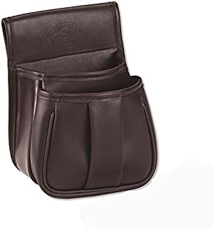 Galco Leather Trap and Skeet Pouch, Dark Havana Brown