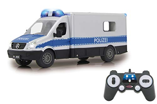 JAMARA 405165 - Mercedes-Benz Polizei Einsatzwagen 1:16 2,4G