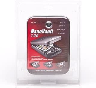 GunVault NV100 NanoVault 100 Fits sub-Compact Pistols Black