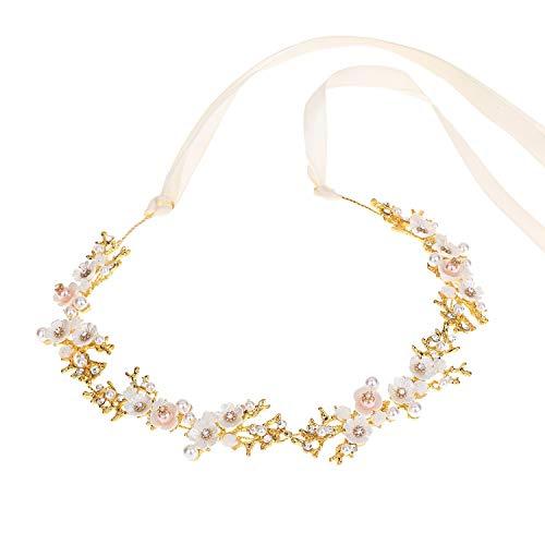 Moligh doll Kristall Einfache Haarband Blume Herzform Stirnband Stirnband Brautkleid Zubeh?R