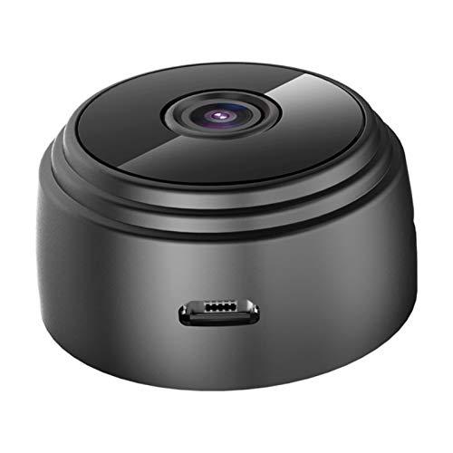 ZXING Cámara espía Mini WiFi cámara oculta, cámara de bebé con Audio-1080P inalámbrico portátil cámara de seguridad interior y exterior, función de visión nocturna mejorada, batería incorporada