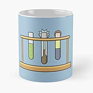 Rick Morty Science Classic Mug - Novelty Ceramic Cups 11oz, Unique Birthday And Holiday Gifts For Mom Mother Father-teiltspe