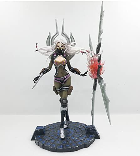 Actionfigur League of Legends Night Blade Blade Will Irelia Anime Figur PVC Statuen Spielzeug Sammlung Modell Geburtstagsgeschenk 22Cm