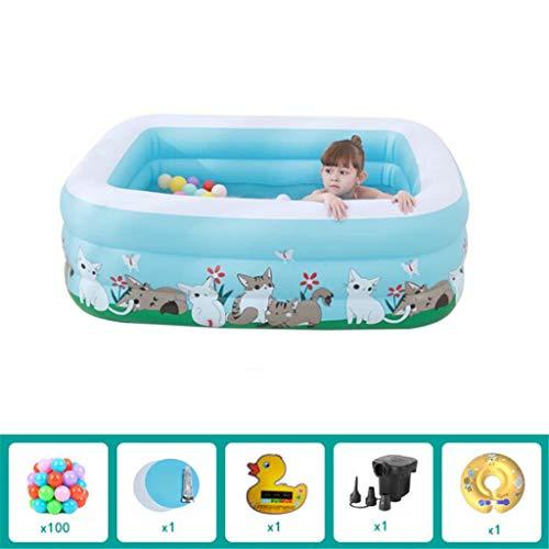 Der aufblasbare Poolwassersport der Kinder spielt aufblasbares Pool des Familienbabys150*110 * 50cm,B1