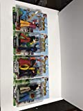 The Beatles Yellow Submarine Sgt Peppers Lonely Hearts Club Band action figure set with George Harrison, Paul McCartney, John Lennon, Ringo Starr