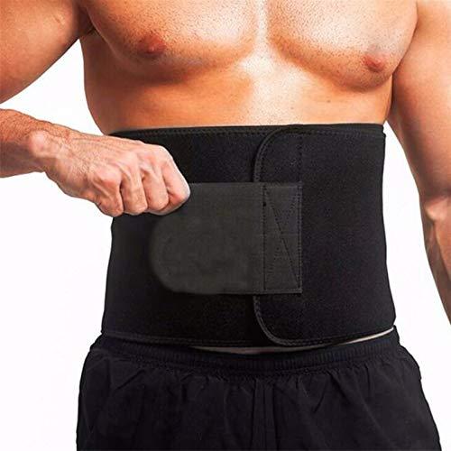 FGJH Trainer de Cintura de Sauna de Neopreno Cinturón de Adelgazamiento Cinturón de Sudor Shaper Quemar Grasa Shaperwear Ajustable Adelgazamiento Envolturas Adelgazante Cinturón 329