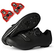 Mens Womens Peloton Shoes Road Bike Cycling Shoes with Cleats-The Lightweight Peloton Shoes Compatible with SPD & Look ARC Delta