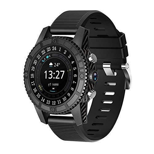 Smart Watch 1.39'Soporte de Pantalla táctil 4G Wi-Fi GPS Android 7.0 RAM 1G ROM 16G SmartWatch con podómetro Cámara Reproductor de música Adecuado para Hombres y Mujeres