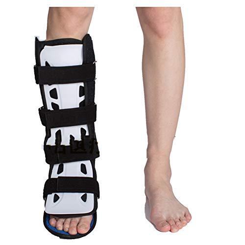 Candyana Tobillo Soporte Fijo Ortesis Pie Tobillera Fijación articulación ortesis tendón de Aquiles Cirugía de tobillo articulación postoperatoria, Blanco, pie derecho