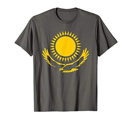 Kasachstan Flagge Kasachischer Adler T-Shirt