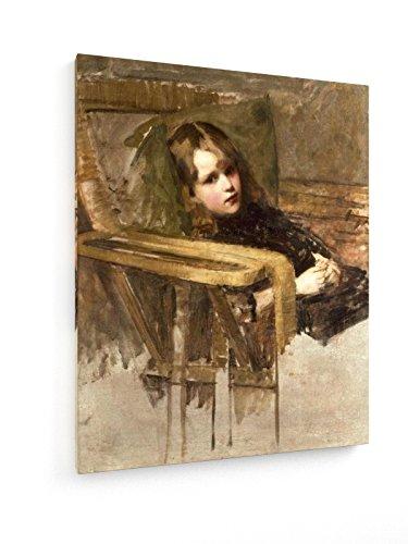 weewado John William Waterhouse, el sillón 60x75 cm Impresión en Lienzo Textil - Muro de Arte - Old Masters/Museum