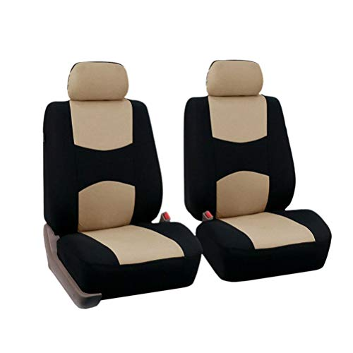 Dasing Set di 5 coprisedili universali per auto, accessori interni (beige)
