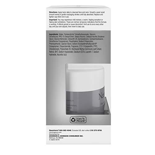 41n+ZpMbDhL - Neutrogena Rapid Wrinkle Repair Retinol Regenerating Anti-Aging Face Cream & Hyaluronic Acid; Anti-Wrinkle Retinol Moisturizer & Neck Cream, with Hyaluronic Acid & Retinol, 1.7 oz