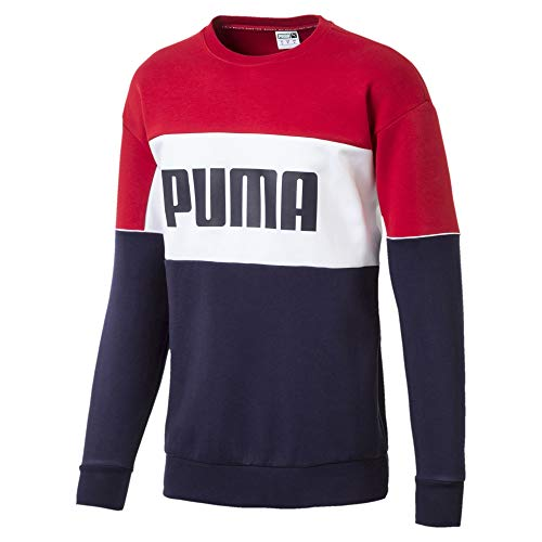 Puma Retro Crew dk Sudadera Peacoat