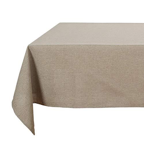 Deconovo Linen Look Tablecloth W...
